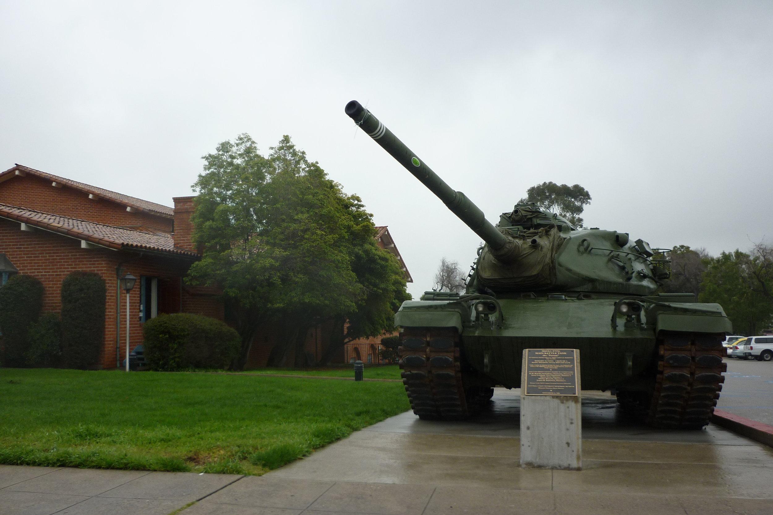Exteriores, en la actualidad, del museo dedicado a los veteranos de Vietnam