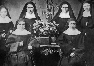 Las fundadoras de la orden religiosa de la Divina Providencia