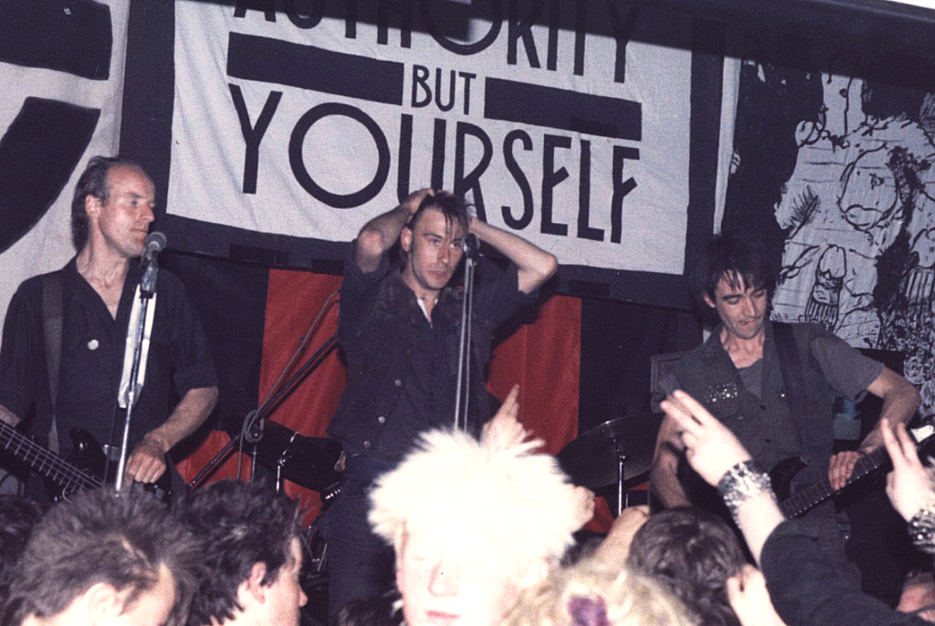 Crass en directo en Cumbria (3 de mayo de 1984)