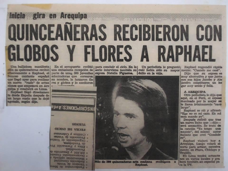 El fenómeno raphaelista se extiende a América Latina