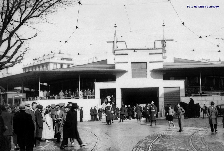Inauguración del mercado de Olavide en enero de 1934