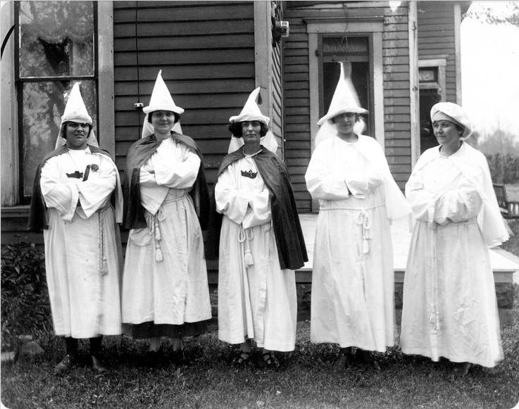 Mujeres del Klan en Indiana (1924)