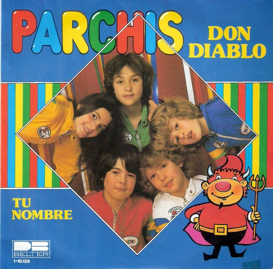 Single «Don Diablo» de Parchis (1980)