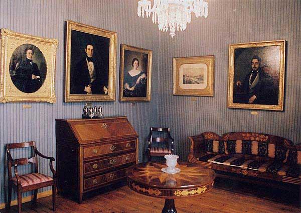 Sala Larra. Museo Romántico, Madrid