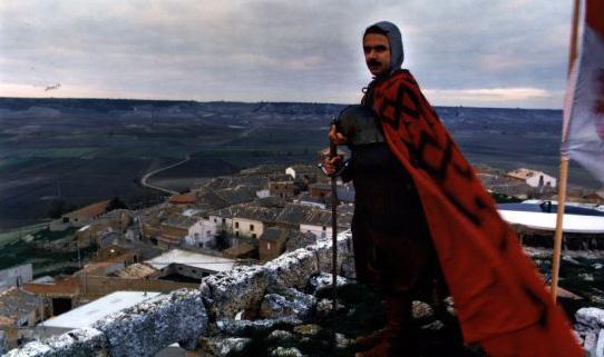 Aznar como el Cid Campeador (Fotografía de Luis Magán / El País)