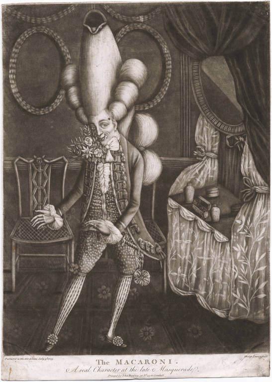 A Macaroni  (1773)
