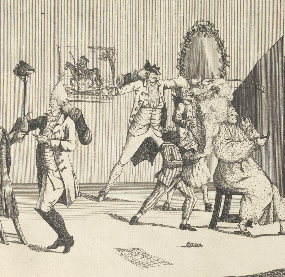 A Macaroni Dressing Room  (1772)