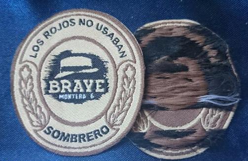 Etiquetas originales de Brave