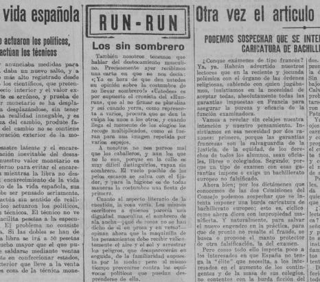 «Los sin sombrero», portada de  El Liberal  (16 de agosto de 1930)