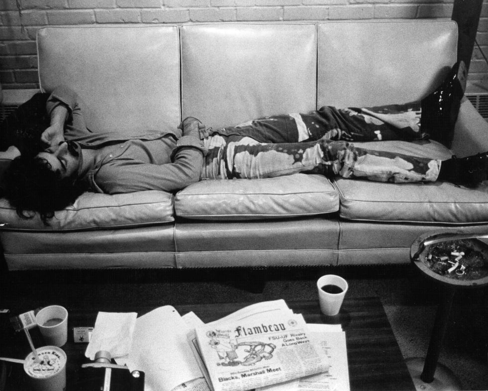 Frank Zappa fotografiado por Michael Ochs