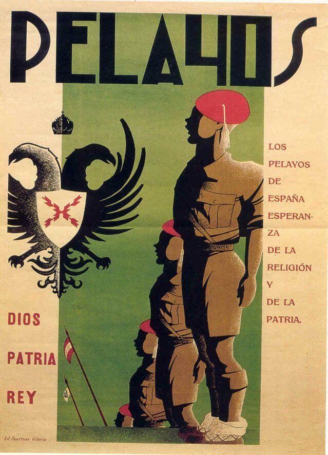 Portada de uno de los números de  Pelayos  antes de la unificación