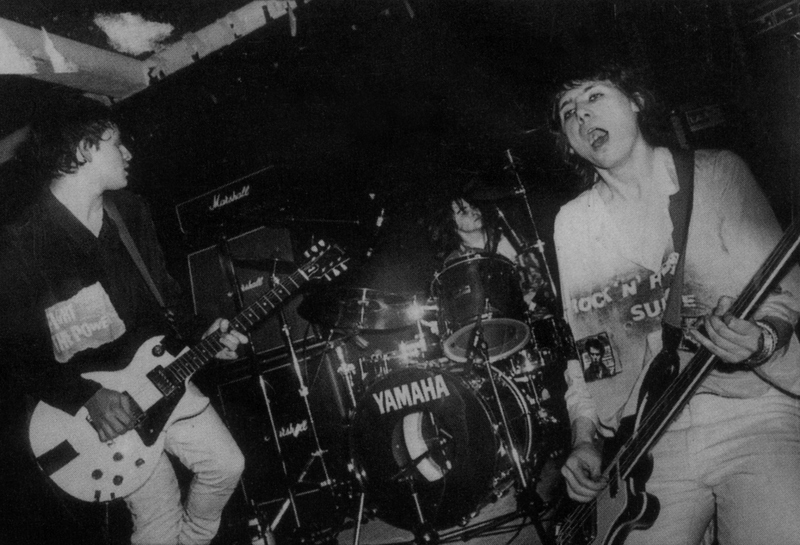 The Manics en el TJ's (1990)