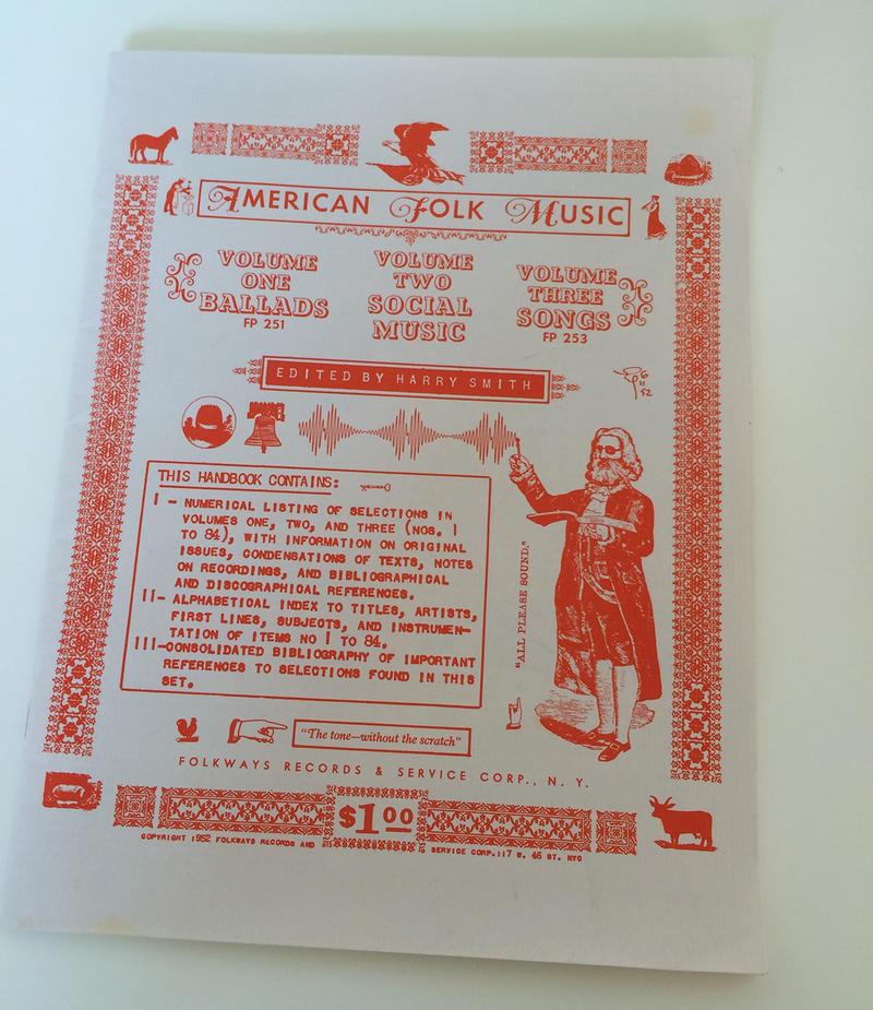 Antología de folk editada por Harry Smith