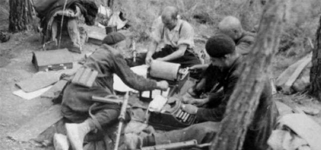 Guerrilleros del maquis de Levante y Aragón a finales de los años cuarenta