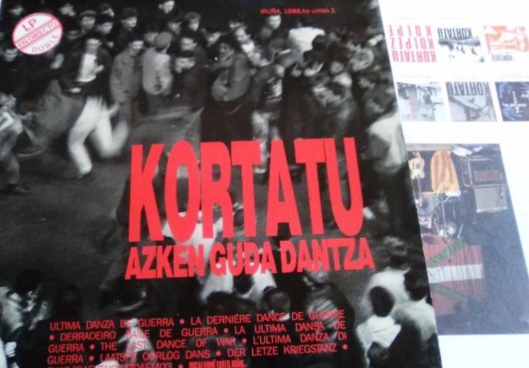 Primera edición de 1988 de  Azken guda dantza