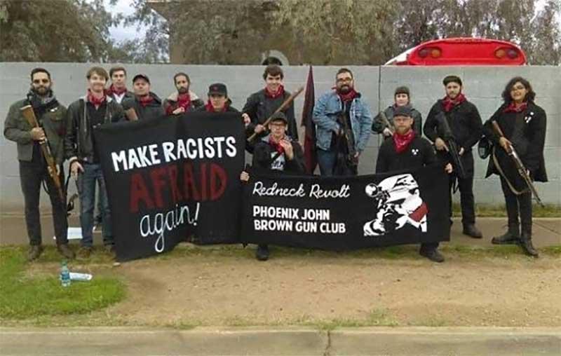 El John Brown Club de Phoenix perteneciente a Redneck Revolt