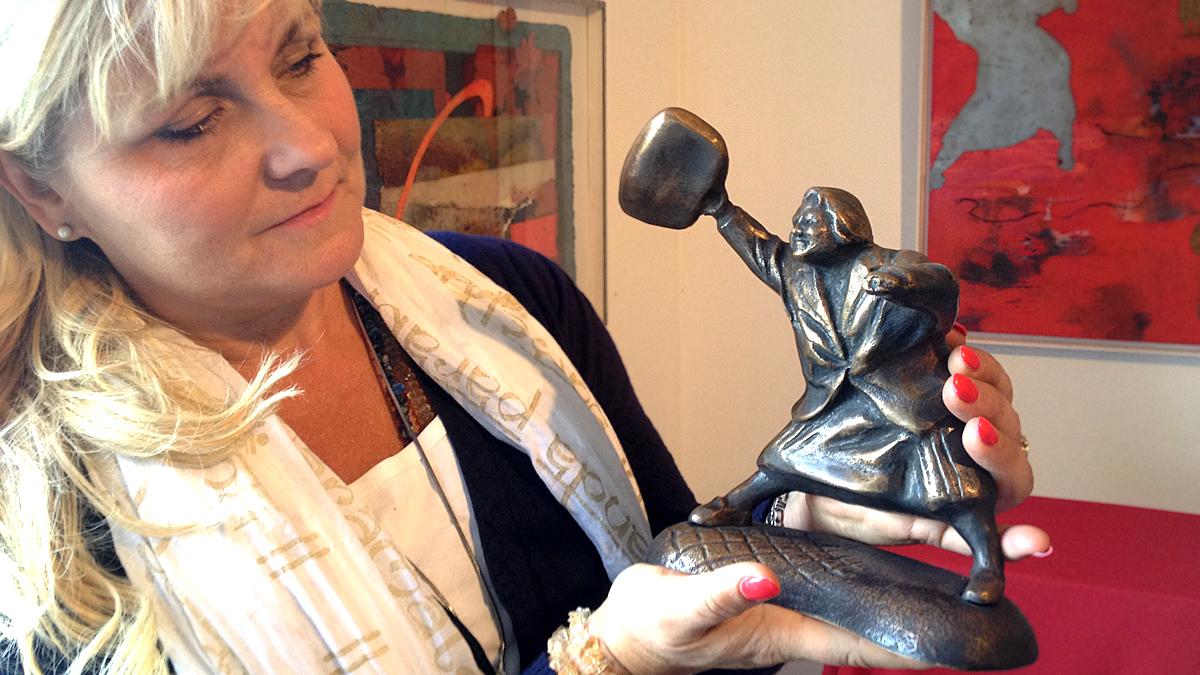 Susanna Arwin y su obra