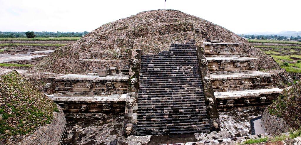 Templo de Quetzacoatl en Teotihuacán, México