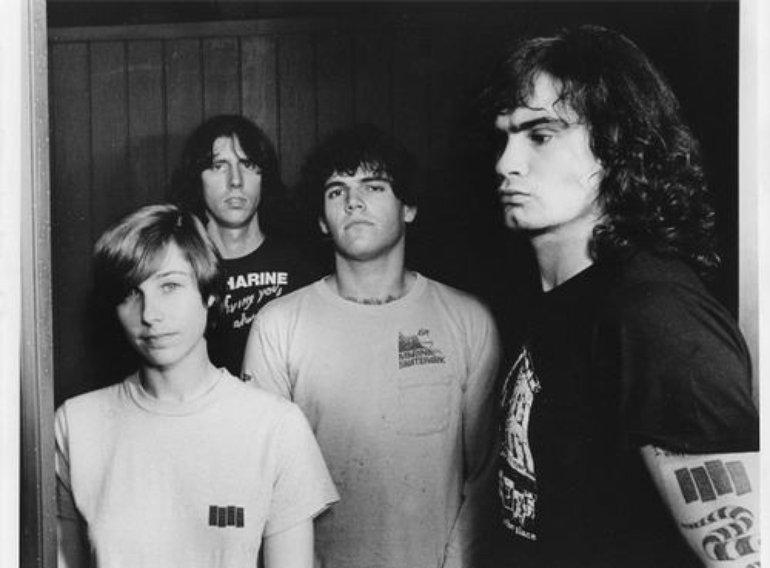 Black Flag con la formación de 1984