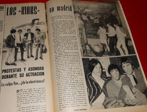 Reportaje en  Discóbolo.  The Kinks en el Museo del Prado