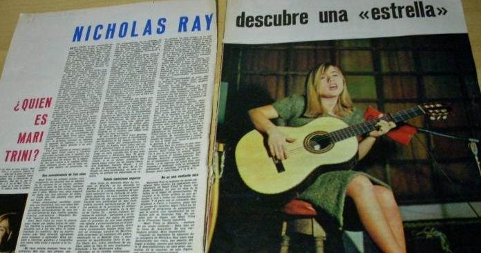 Artículo sobre la relación de Ray con Mari Trini ( La Gaceta Ilustrada , febrero de 1965)