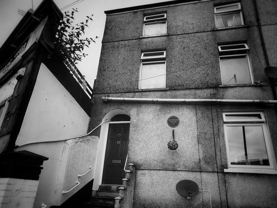 La casa en la que vivió Strummer en Newcastle. Fotografía:Otis Gibbs