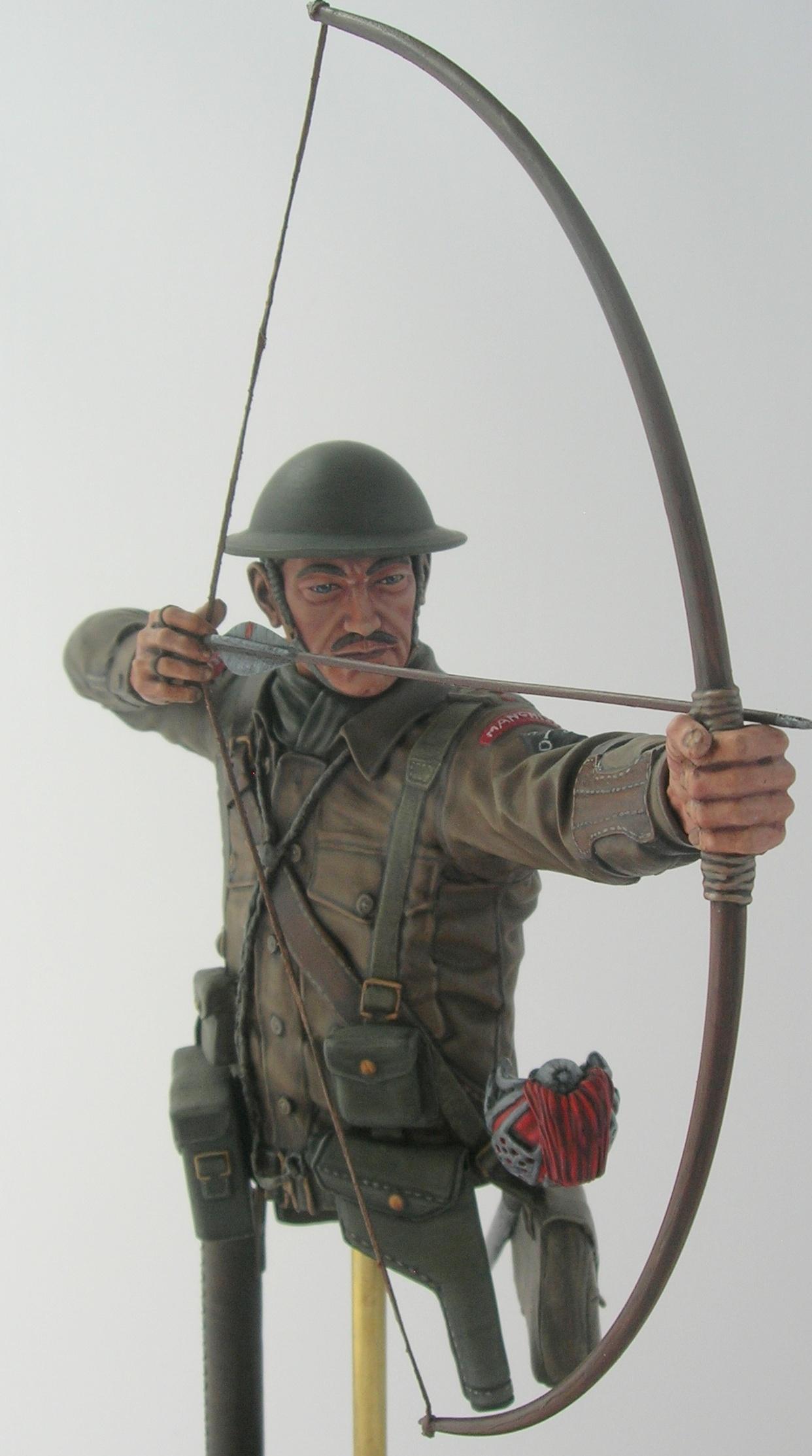 Figura en miniatura de Jack con su arco