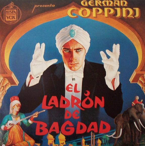 German Coppini,  El Ladrón de Bagdad  (Hispavox, 1987)