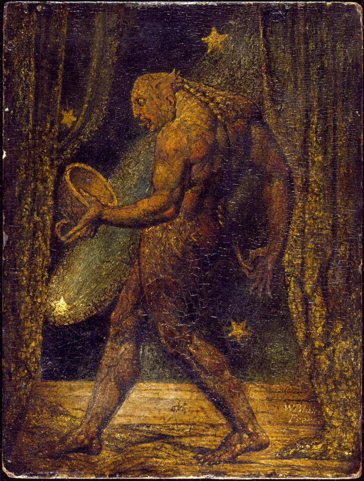 William Blake,  The ghost of flea