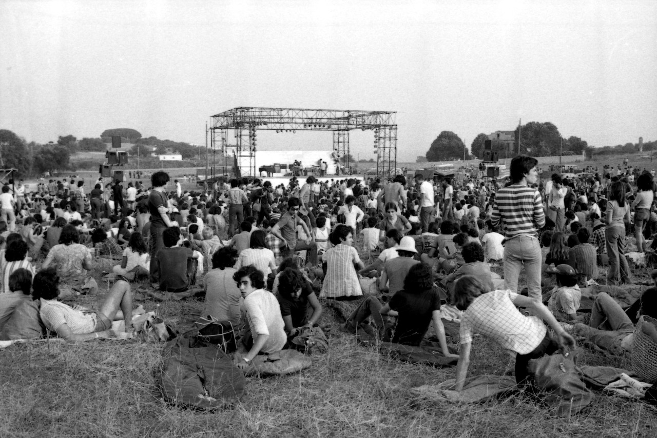 Canet Rock (1978). Fotografía: Francesc Fabregas