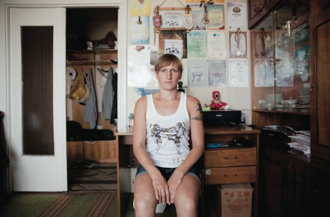 Katerina Tarnovska, fundadora del grupo. Fotografía:Milene Larsson / Vice
