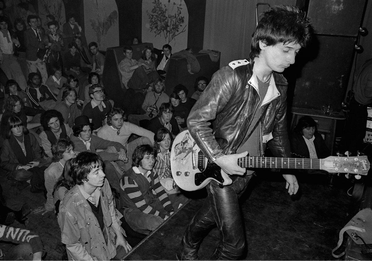Johnny Thunders, Anarchy Tour – 1976