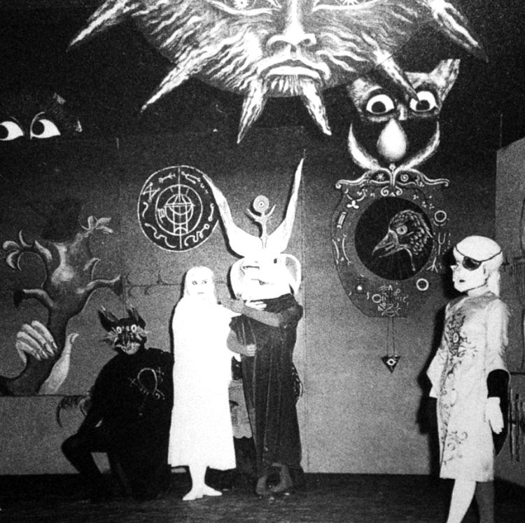 Leonora Carrington y Alejandro Jodorowsky (México, 1957)