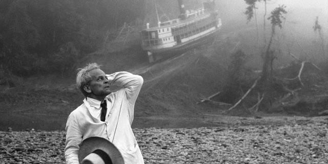 Klaus Kinski en  Fitzcarraldo  (Werner Herzog, 1982)