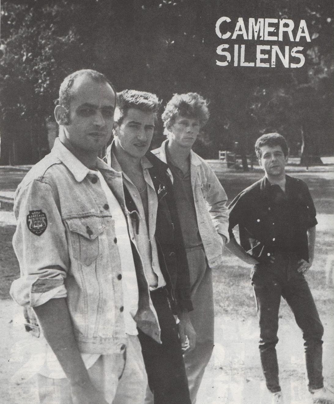 Camera Silens y Gilles Bertin (tercero por la izquierda)