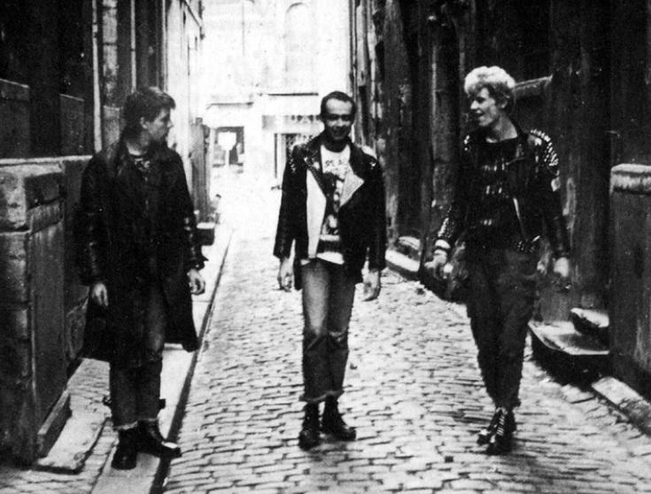Camera Silens con Gilles Bertin, el primero a la derecha