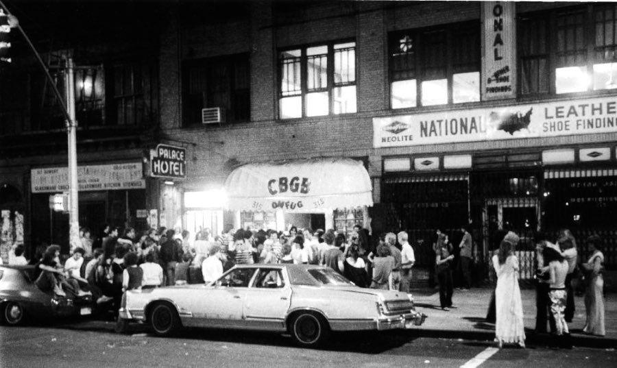 Exteriores del CBGB