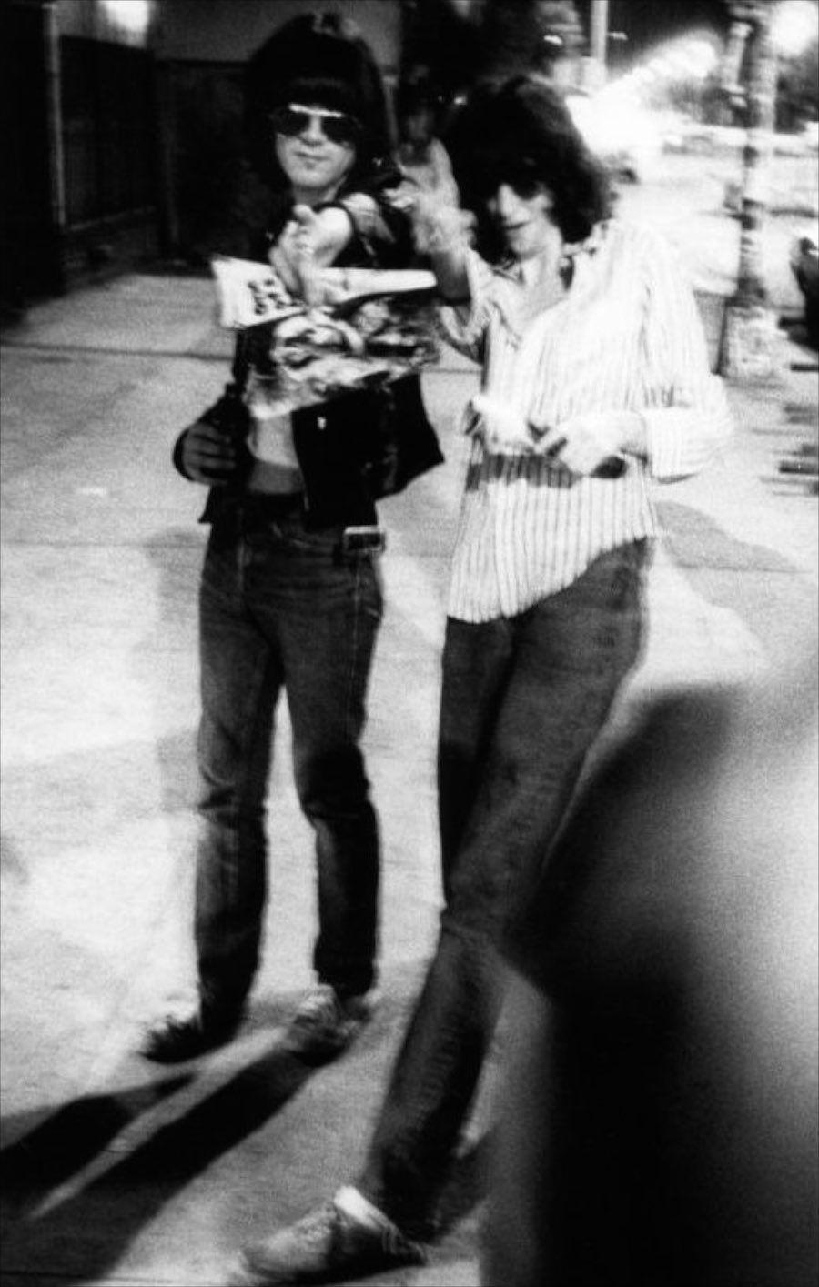 Dee Dee y Joey Ramone