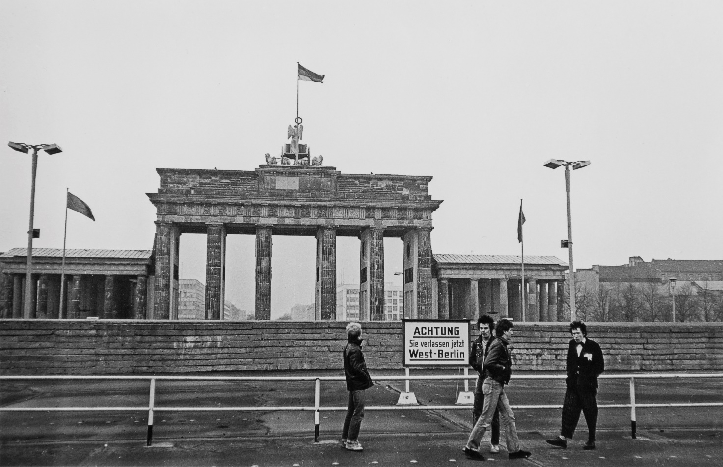Sex Pistols en Berlín (1977)