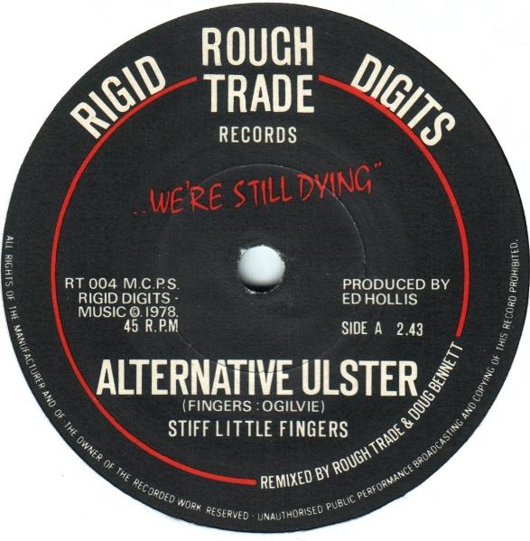 Single  Alternative Ulster  de Stiff Little Fingers (1978)