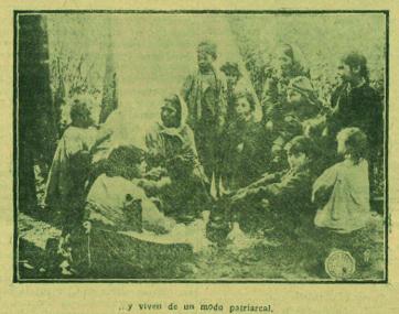 La «troupe» reunida y fotografiada por Marín (febrero de 1926)