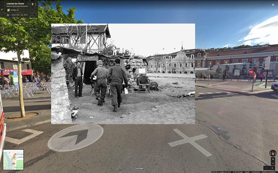 Emplazamiento, según fotografía actual, de la ubicación exacta de La Puñalá (Imagen: Gaby Culto)