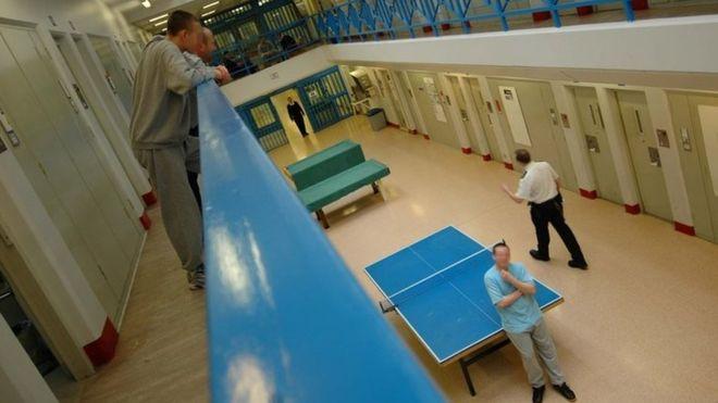 Exterior e interior de la prisión de Chelmsford