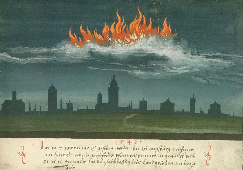 Augsburger_Wunderzeichenbuch_—_Folio_144-_Himmelsfeuer_über_Augsburg_1542.jpg