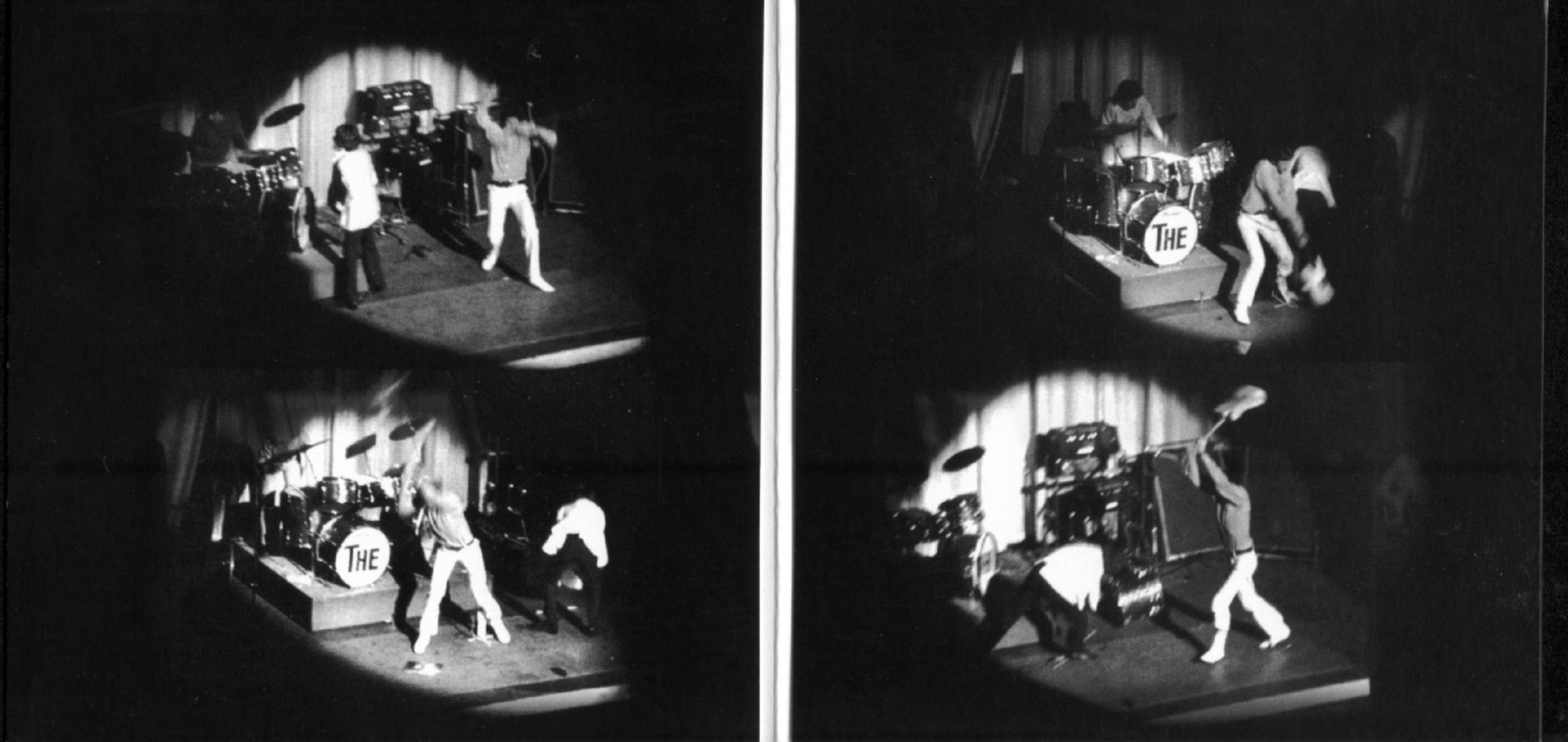 The Who durante su concierto en el Fillmore, presentando  Tommy , el 24 de octubre de 1969.
