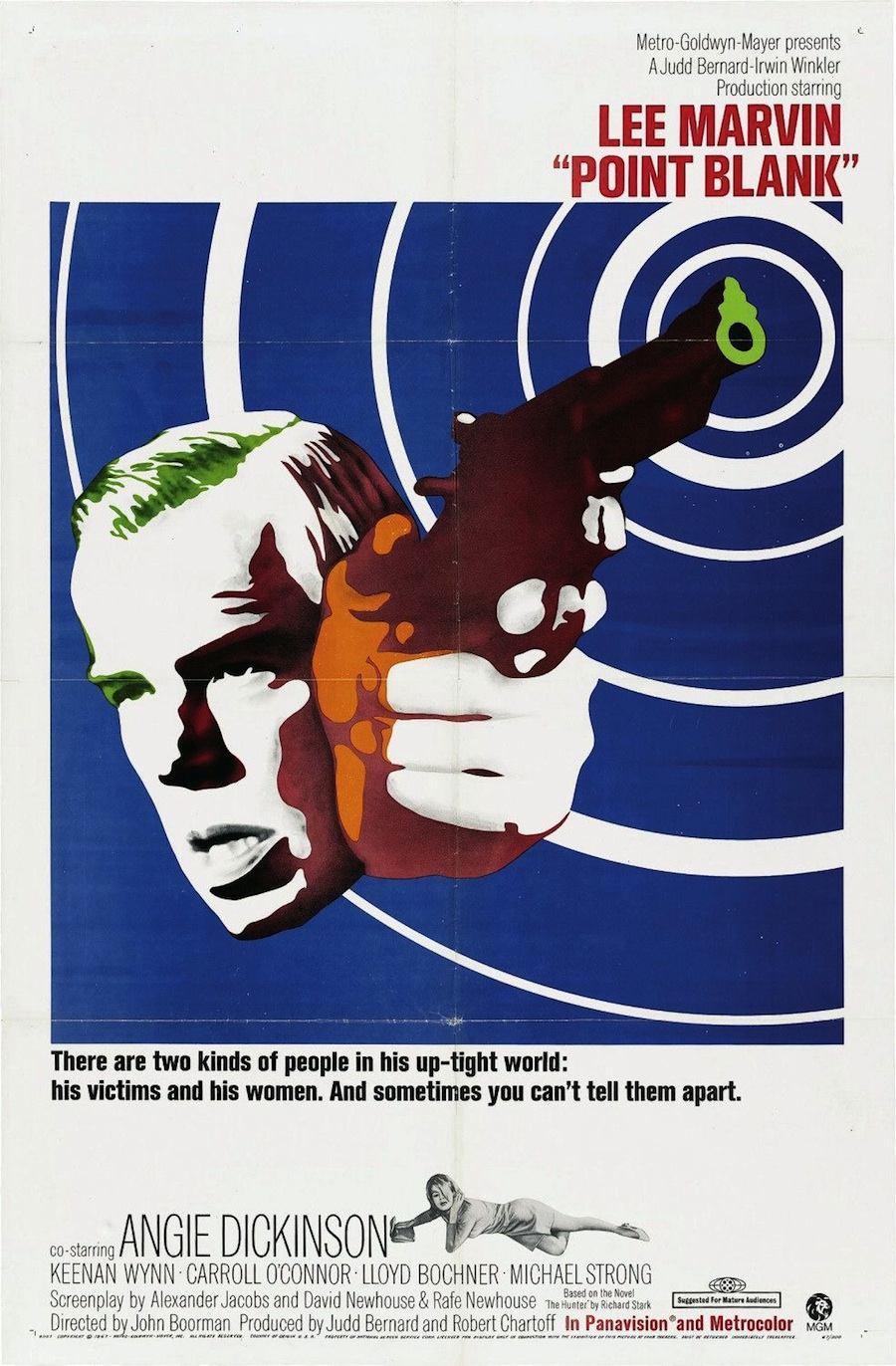 Cartel de  Point Blank  (1967)
