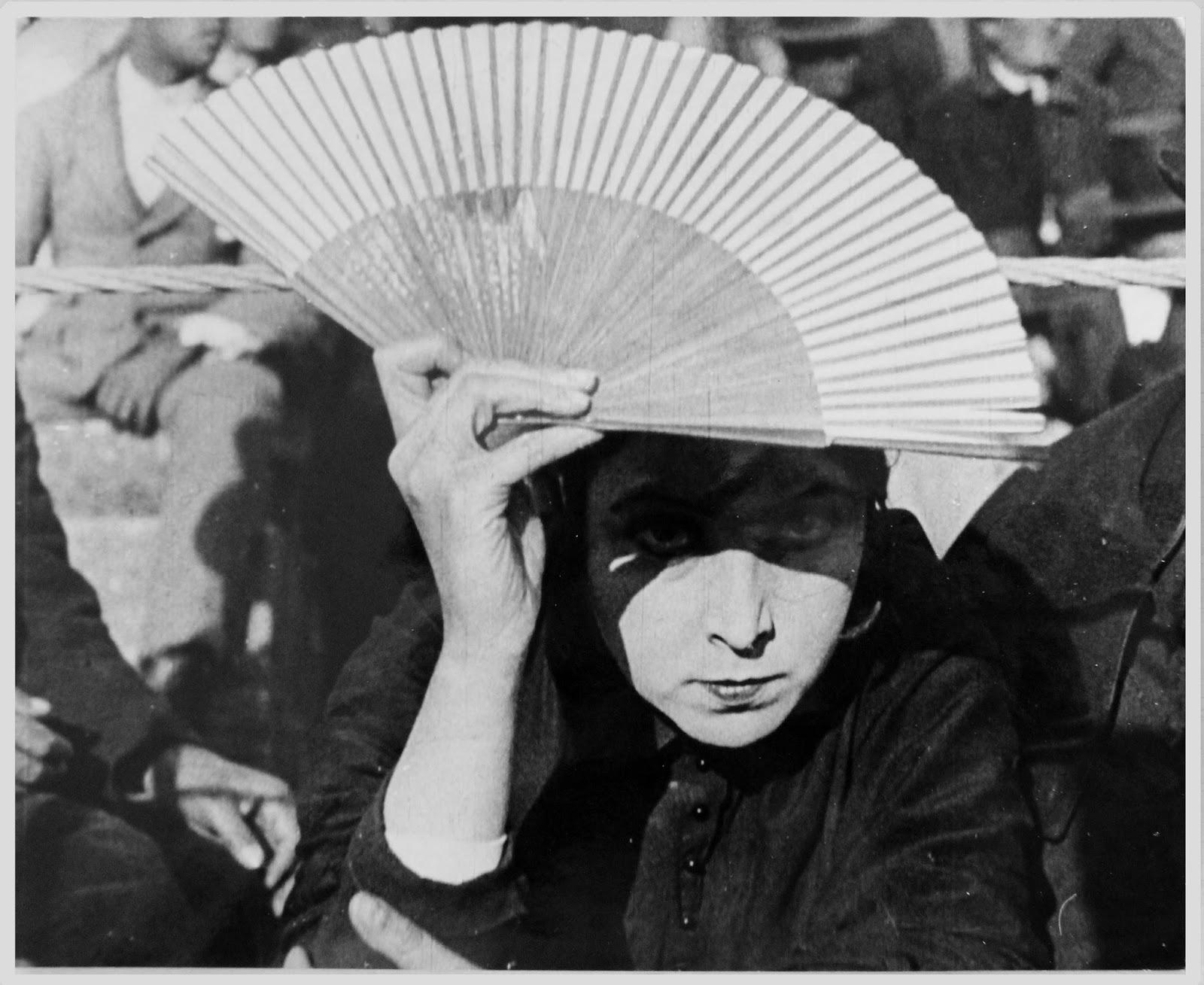 Musidora en  Sol y sombra , una de sus películas españolas