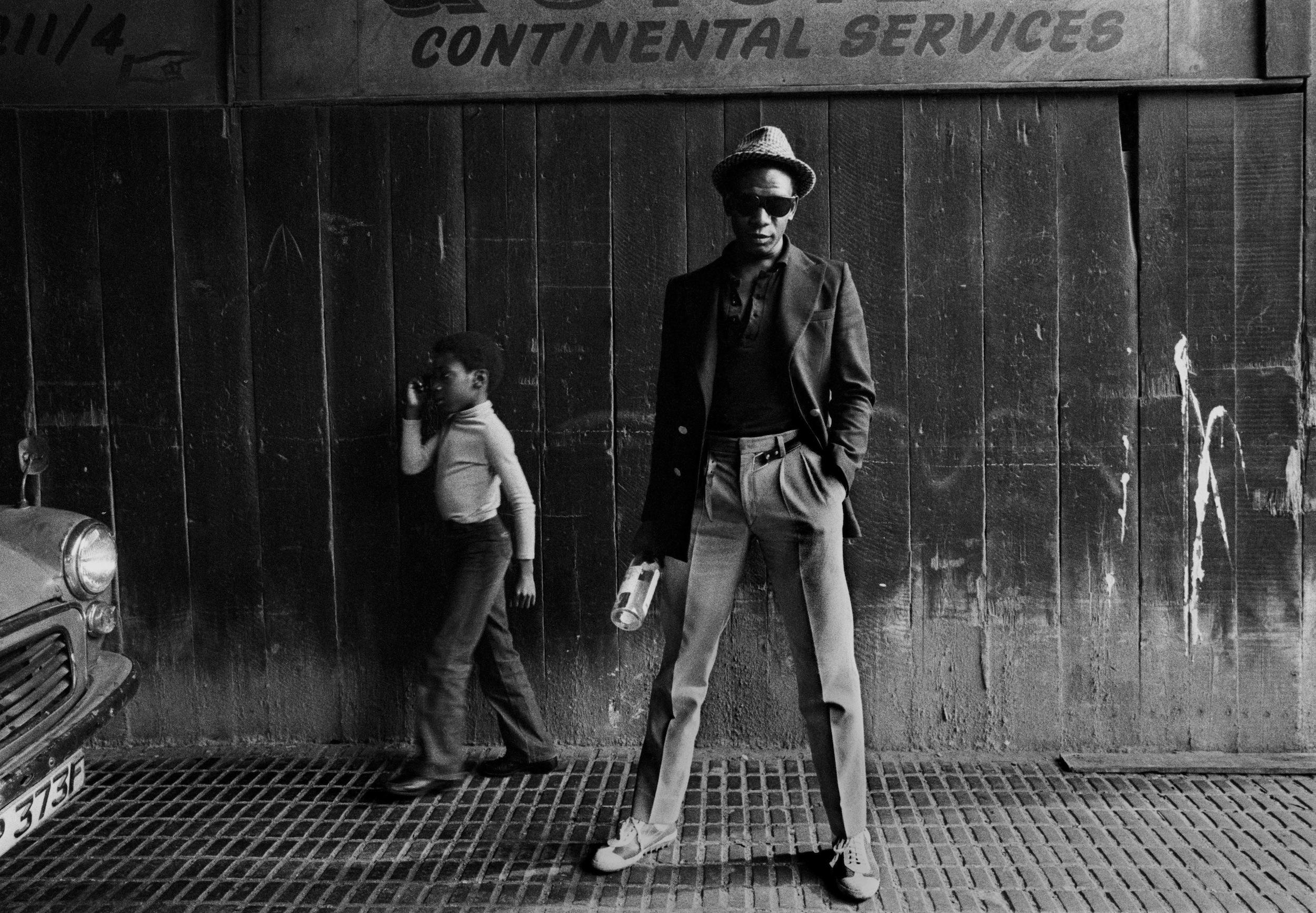 7 Bagga, cantante de Matumbi (una de las bandas importantes de «jah punk») en 1978. Fotografía: Syd Shelton