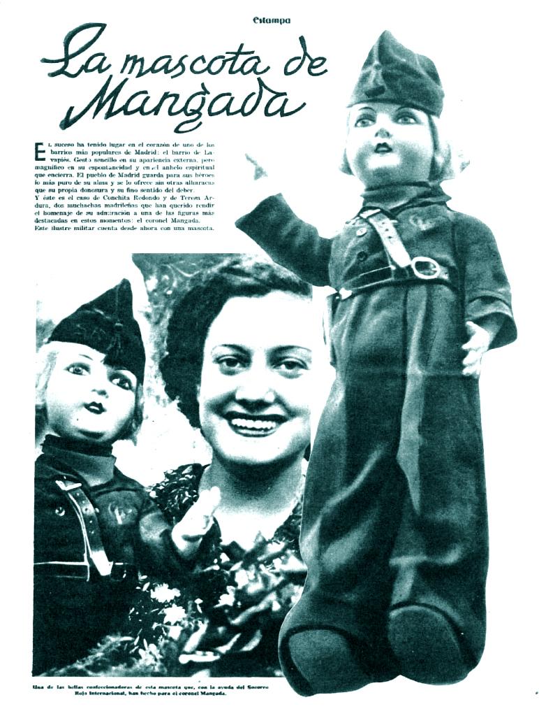La muñeca del general ( Estampa , 3 de octubre de 1936)