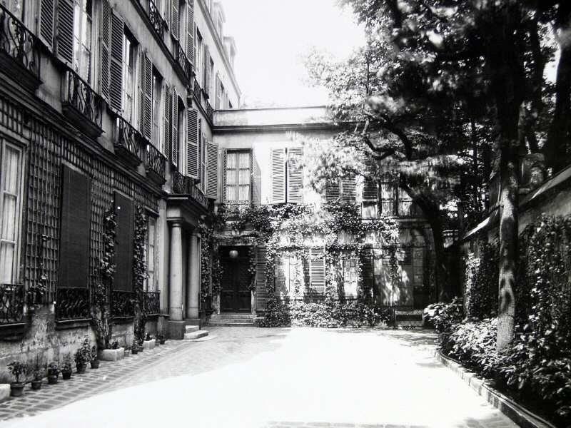 Imagen de una parte de la casa de Barney
